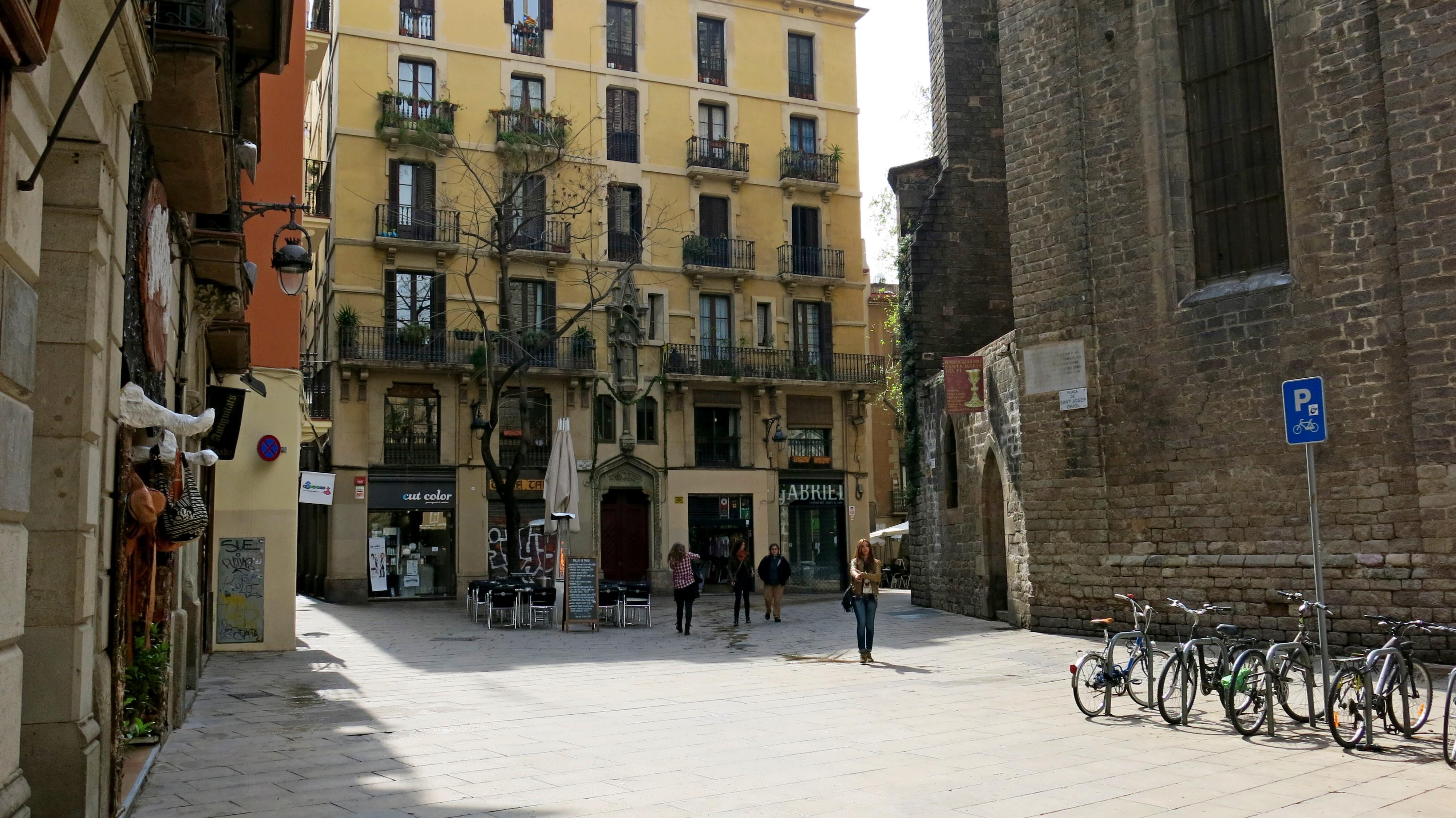 kleiner Platz im Barrio Gótic