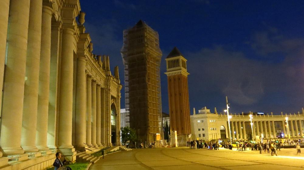 La Plaza de España.